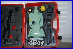 Leica TCRA1101+ Robotic Total Station with RCS1100 remote controller