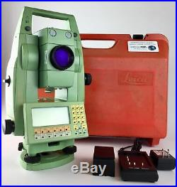 Leica TCRA1101plus, 1 Reflectorless Robotic Total Station, Reconditioned
