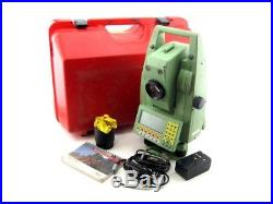 Leica TCRA1103 667296 Reflectorless Robotic Surveying Construction Total Station