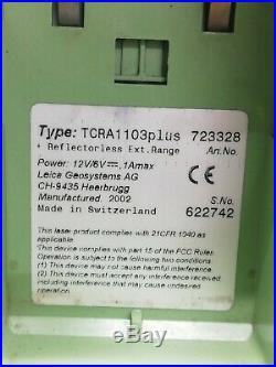 Leica TCRA1103plus Range 3 Robotic Total Station But With Out Battery Charger