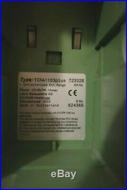 Leica TCRA1103plus robotic total station set with RCS1100