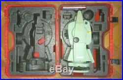 Leica TCRA1105+ Robotic Total Station with Powersearch