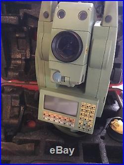 Leica TCRA1105plus Robotic Total Station