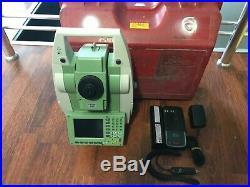 Leica TCRM1205+ R1000 mot Total Station w. Rl EDM Calibrated FREE SHIP