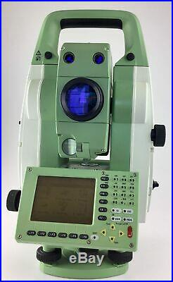 Leica TCRP1201 R300, 1 Robotic Total Station with GeoCOM License, Reconditioned