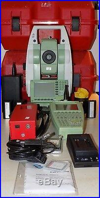 Leica TCRP1201 R300 & RX1220T Robotic Total Station Calibrated Free Shipping