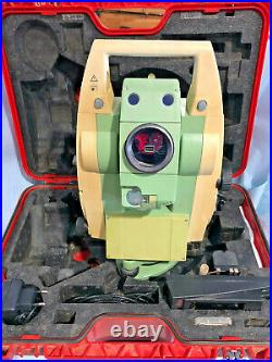 Leica TCRP1203 R300 Total Station. Used surplus with Calibration Cert. New batte