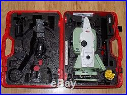 Leica TCRP1205 R100 Total Station Robotic Calibrated Free World wide Shipping