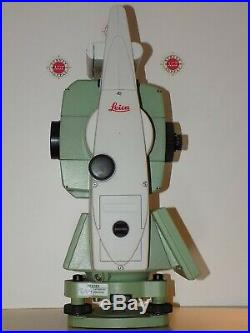 Leica TCRP1205 R300 & CS15 Robotic Total Station Calibrated Free Shipping
