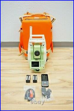 Leica TCRP1205+ R400 Reflectorless Robotic Total Station 5 Sec 1205 +