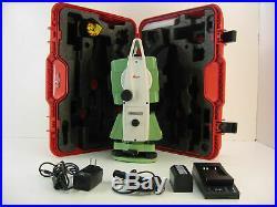 Leica TS02 3 R1000 Total Station, für Vermessung, ein Monat Garantie