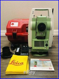 Leica TS02 3'' Ultra R1000 Reflectorless Total Station, For Surveying
