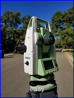 Leica TS02 Plus R500 5 Reflectorless Survey Total Station