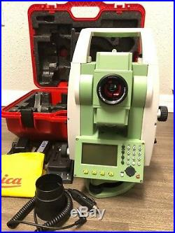 Leica TS06 Plus 1'' R500 Reflectorless Total Station, For Surveying