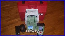 Leica TS12 7 Robotic Total Station, Leica CS10 controller and 360 Prism