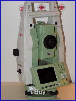 Leica TS12 P 2 R1000 Total Station & CS15 Robotic Calibrated Free Shipping