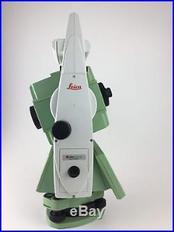 Leica TS12 P 5 R400 (Demo Model), CS15 with SmartWorx, Robotic Total Station Kit
