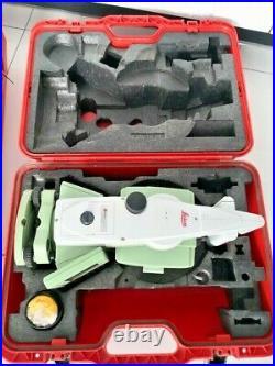 Leica TS15i 2 R1000 CS15 Robotic set with accessories, calibrated. Mint shape