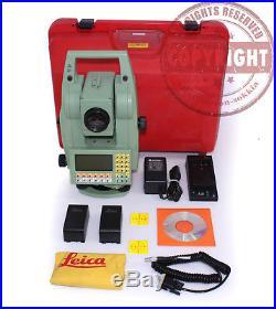 Leica Tc1103 Surveying Total Station, Topcon, Trimble, Sokkia, Nikon, Survey, Tps
