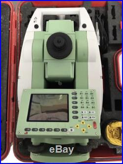 Leica Tcp1201+ 1 Total Station With Atr/ps For Surveying And Machine Control