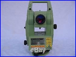 Leica Tcr1105 5 Total Station Only, For Surveying, One Month Warranty