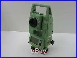 Leica Tcr407 7 Reflectorless Total Station For Surveying, One Month Warranty