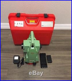 Leica Tcr705 5 Reflectorless Total Station For Surveying