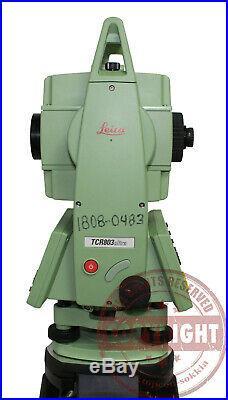 Leica Tcr803 Ultra Prismless Surveying Total Station, Topcon, Trimble, Sokkia, Tps