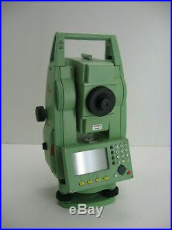 Leica Tcr805 Power R100 Prismless Total Station For Surveying One Month Warranty