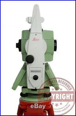 Leica Tcra1203+ R400 Robotic Prismless Surveying Total Station, Trimble, Topcon