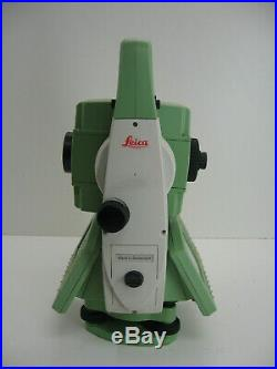 Leica Tcrp1201 + 1 R1000 Robotic Total Station For Surveying One Month Warranty
