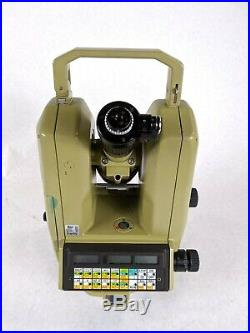 Leica Theomat Wild T3000 Heerburg Total Survey Theodolite Station Unit with Case