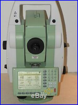 Leica Total Station TCRP1203 R300 Robotic Calibrated Free Shipping