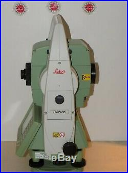 Leica Total Station TCRP1205 R300 Robotic Calibrated Free Shipping