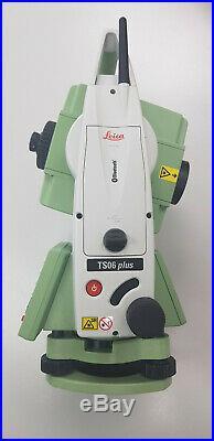 Leica Total Station TS06 Plus
