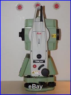 Leica Total Station TS06 Plus 5 R500 Calibrated Free Shipping Worldwide