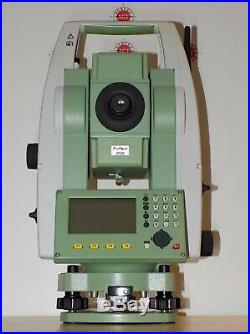 Leica Total Station TS06 Plus R500 5 Calibrated Free Shipping