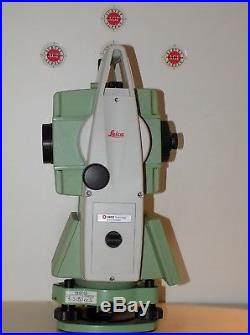 Leica Total Station TS06 Power R400 2 Calibrated Free Shipping Worldwide