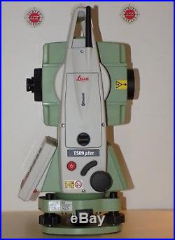 Leica Total Station TS09 Plus R500 3 Calibrated Free Shipping worldwide