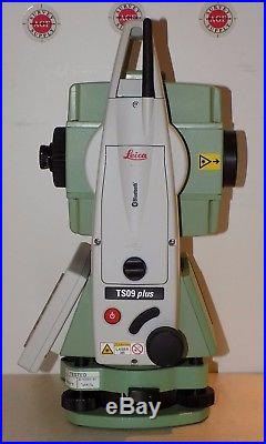 Leica Total Station TS09 Plus R500 Calibrated Free World wide Shipping