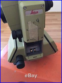Leica Total Station WILD TC1010 with carrying case