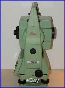 Leica Total station TCA1105 Calibrated Free Shipping Worldwide