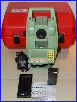 Leica Total station TCR1105 Calibrated Free Shipping Worldwide