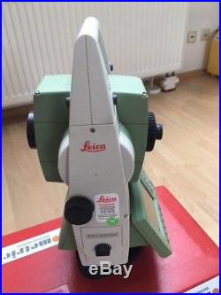 Leica Totalstation TCRA1203 R300 Tachymeter Total Station Leica blue certificate