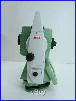 Leica Ts12 P 3 R1000 Robotic Total Station For Surveying W One Month Warranty
