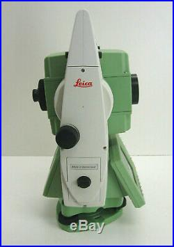 Leica Ts12 P 3 R400 Robotic Total Station For Surveying W One Month Warranty