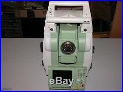Leica Ts12 Total Station Sold for parts Broken Screen