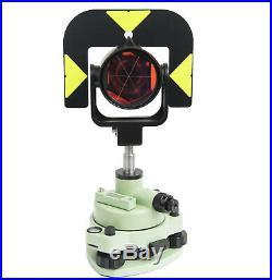 Leica Type Survey Prism Reflector Set & Tribrach w Optical Plummet GPR121 Style