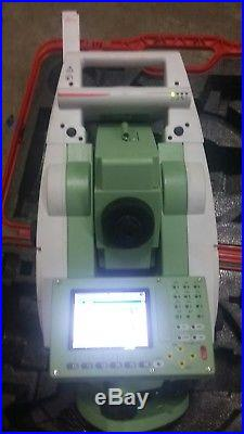 Leica Viva TS12 2 R400 Robotic Total Station Case Charger 2 batt free worldwide