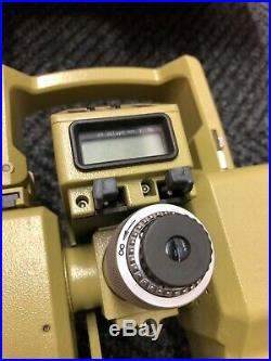 Leica Wild Heerbrugg T1600 T1610 Theodolite Total Station with Distomat DI1600